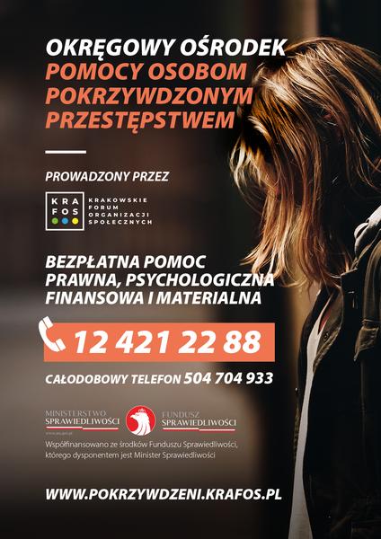 Pomoc Osobom Pokrzywdzonym Przestępstwem finansowana z Funduszu Solidarnościowego